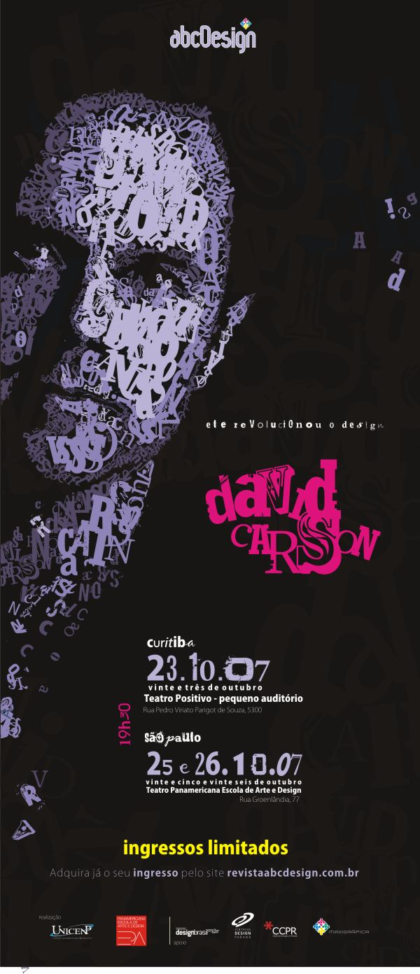 David Carson Folder