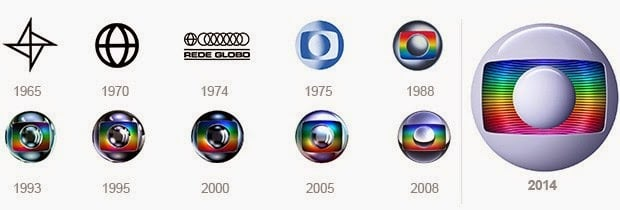 nova marca da rede globo
